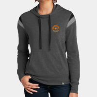 New Era Ladies Heritage Blend Varsity Hoodie Thumbnail